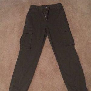 Active USA Army Green Cargo Pants